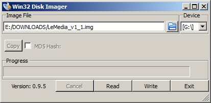 Win32-disk-imager